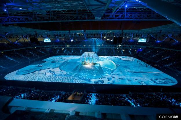 Juegos del Mediterraneo, 2013. COSMO AV