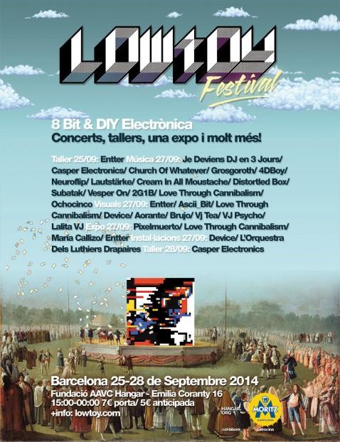 Lowtoy festival vjspain