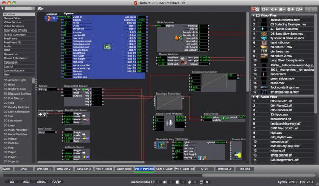 isadora-20-user-interface