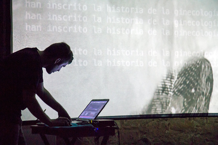 vjspain: XI edición de la Mostra Sonora i Visual Centre Cívic Convent de Sant Agustí